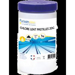 Chlore Lent pastille (2Og) 1Kg